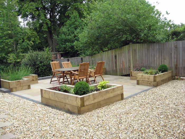 Large north facing garden for growing fruit and for Garden design vegetable patch