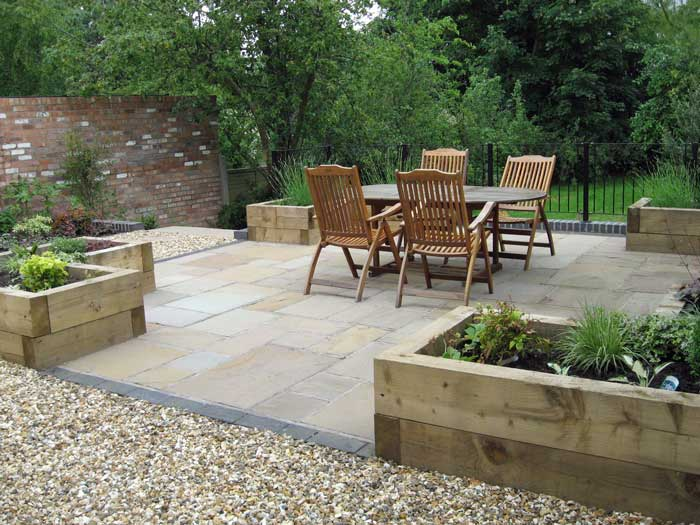 Garden Design North Facing large, north facing garden for growing fruit and vegetables
